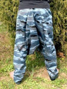NEW! Синие унисекс афгани, демисезон, на рост выше 170 см (Москва) x
