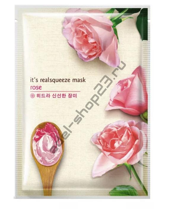 Bioaqua - Маска пленка с розой