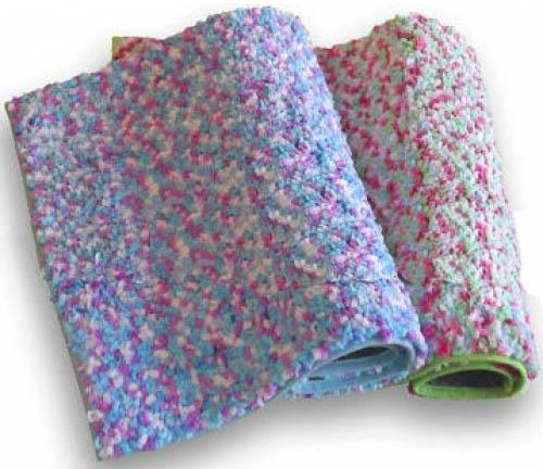 Коврик для ванны Салют голубо-фиолетовый 50 х 80 см
