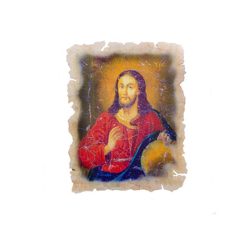 """Икона """"Иисус"""" на ониксе"""