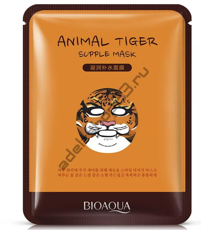 Bioaqua - Маска для лица Animal тигр