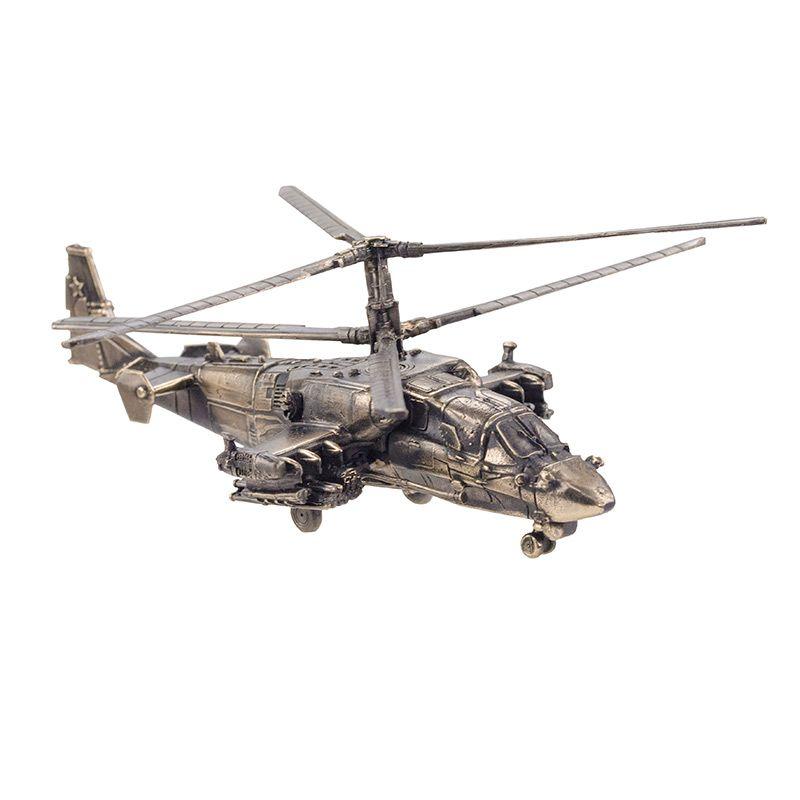 """Вертолёт КА-52 """"Аллигатор""""(1:100) на подставке"""