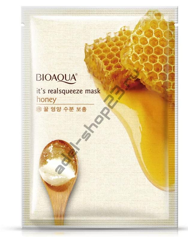 Bioaqua - Маска для лица с медом
