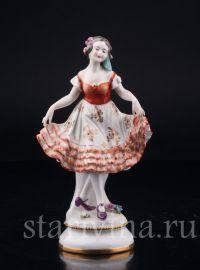 Танцующая девушка, Volkstedt, Германия, до 1935 г