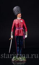 Капитан шотландской гвардии, Дрезден, Германия, сер. 20 в.