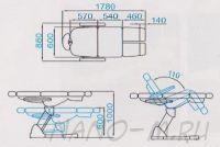 Педикюрное кресло SD-3869AS, 5 моторов - вид 16