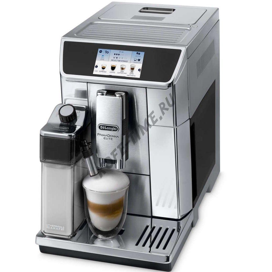 Кофемашина DeLonghi ECAM 650.75 MS Primadonna Elite