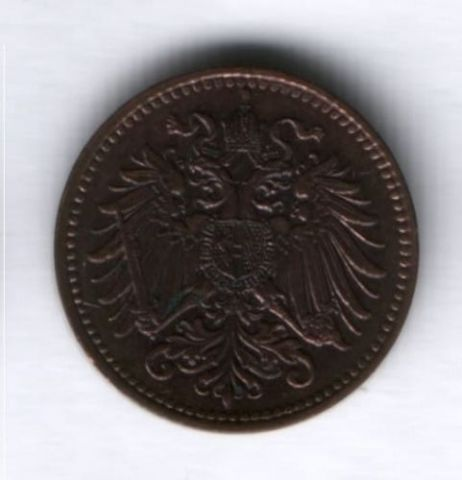 1 геллер 1901 г. Австрия