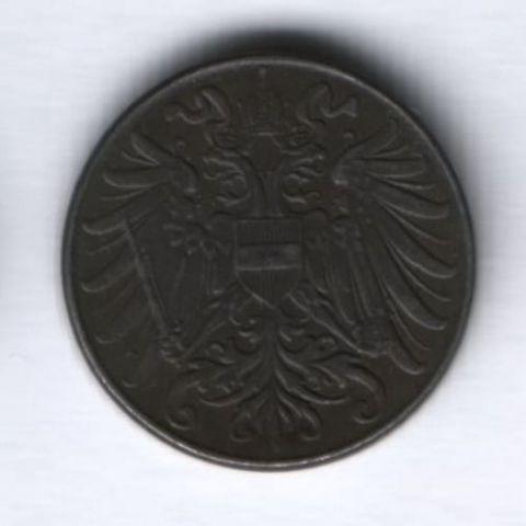 2 геллера 1918 г. Австрия