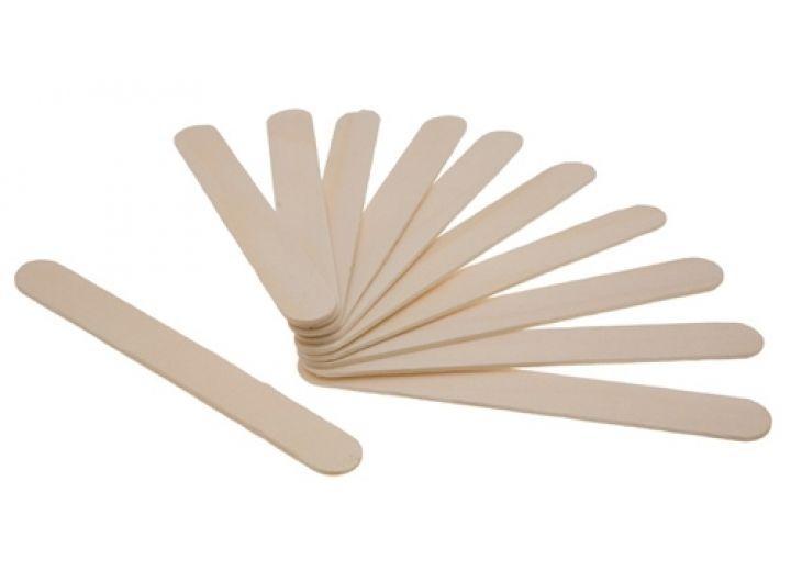 Шпатель деревянный, не стерильный (в упаковке).Чистовье