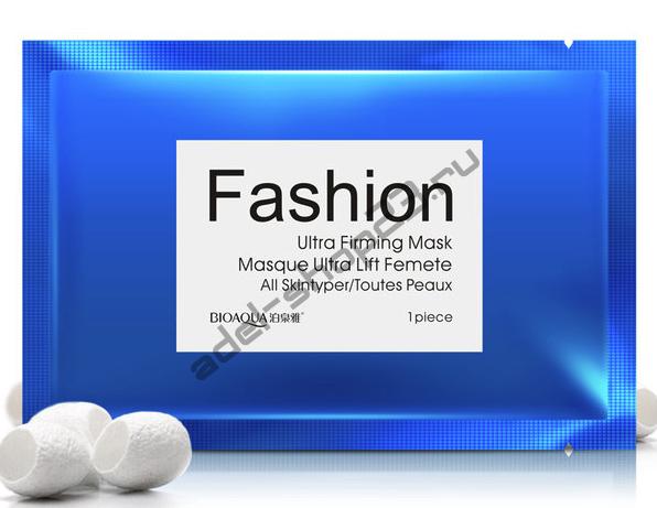 Bioaqua - Маска для лица Fashion - Голубая- питательная