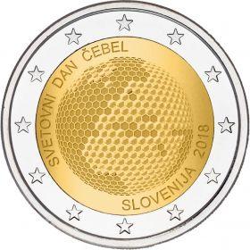 Всемирный день пчеловодства 2 евро Словения 2018