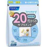 Fancl 20 витамины для мужчин, на 30 дней.