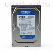 HDD десктопный (3,5'') 320GB/7200RPM — Western Digital WD3200AAJS