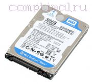 HDD для ноутбука (2,5'') 250GB/5400RPM - Western Digital