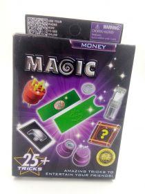 """Набор для начинающего фокусника """"Magic Money"""" 25 фокусов"""