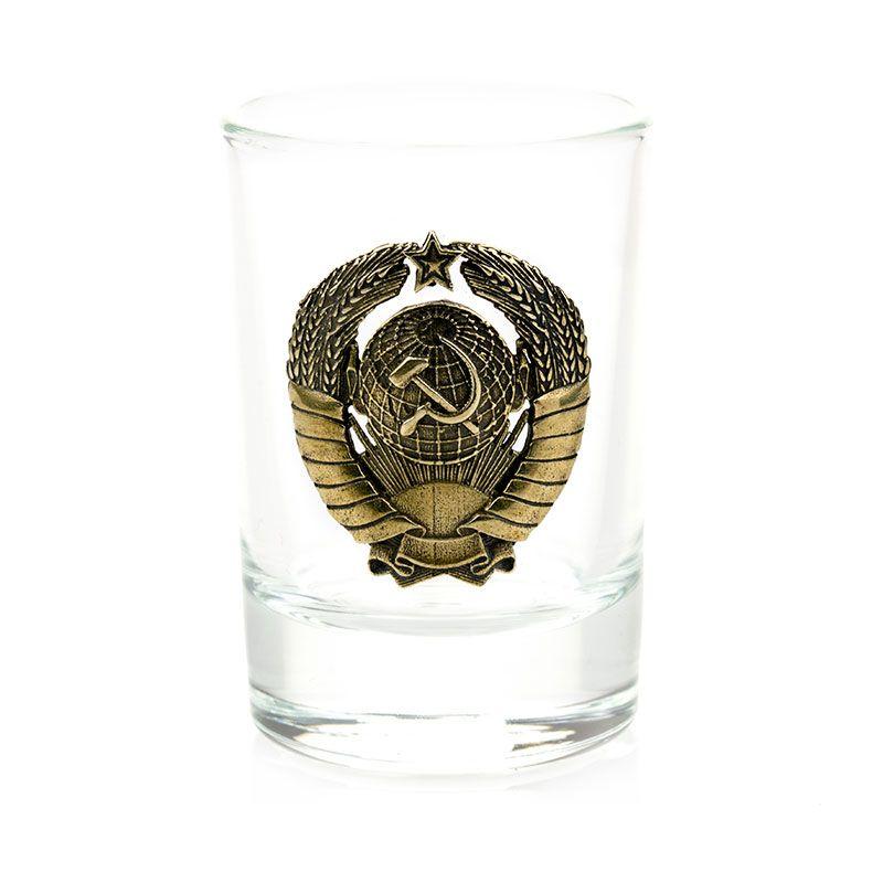 """Коллекционная сувенирная рюмка """"СССР""""(1шт.)"""