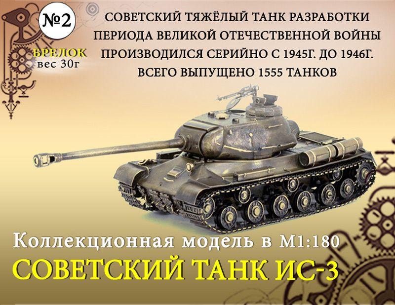 "Форма №2 ""Брелок. Танк ИС-3""(1:180)"