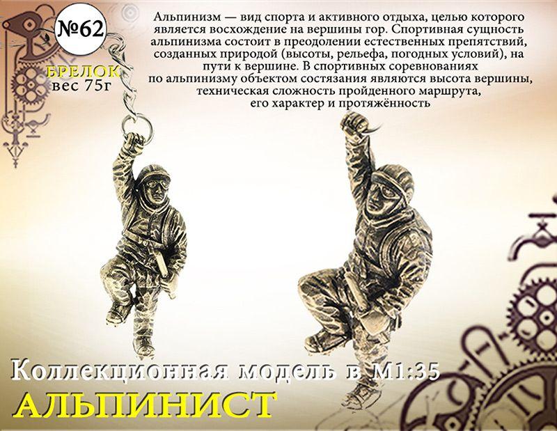 "Форма №62 ""Альпинист. Брелок""(1:35)"