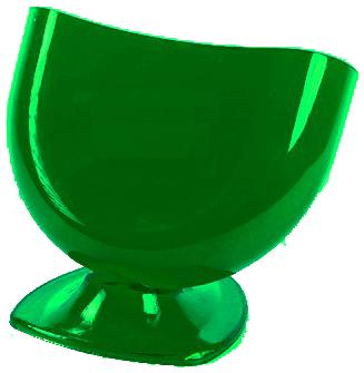 Подставка для губки зелёная