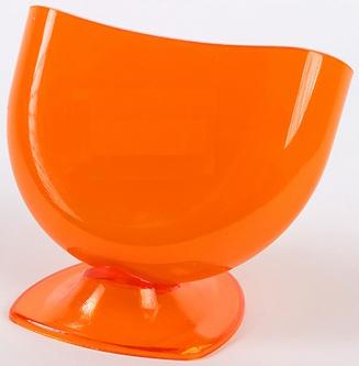Подставка для губки оранжевая