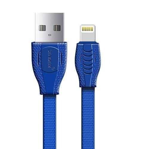 Кабель USB 2.1А SENDEM T1 (для iPhone5/6/7) 1м