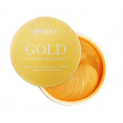 ПТФ Патчи для глаз гидрогелевые с золотом PETITFEE GOLD Hydrogel Eye Patch 1,4гр*60