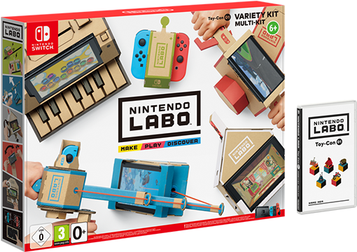 Nintendo Labo : Набор «Ассорти» Labo Variety Kit (Nintendo Switch)
