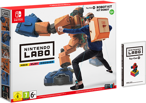 Nintendo Labo : Набор «Робот» Labo Robot Kit (Nintendo Switch)