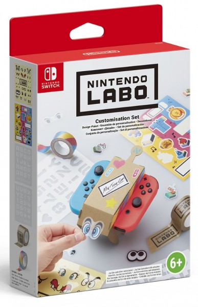 Nintendo Labo : Комплект «Дизайн» Customization Set (Nintendo Switch)