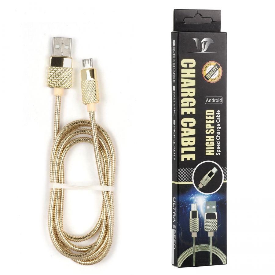 Шнур Oleeps Micro - USB POL-805 (черный)