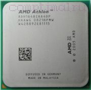 Процессор AMD Athlon 64 1640B - AM2, 1 ядра/1 потоков, 2.7 GHz, 45W