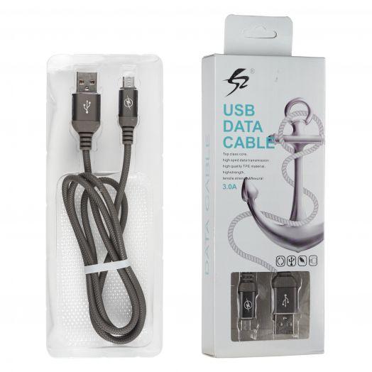 Шнур Oleeps Micro - USB POL-806 (черный)