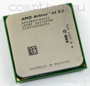 Процессор AMD Athlon 64 X2 3800+ - AM2, 90 нм, 2 ядра/2 потока, 2.0 GHz, 89W