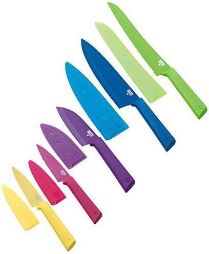 Набор ножей без подставки Kuhn Rikon Colori 5 шт цветные 26691