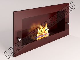 Биокамин INFIRE ELEON FL-250 Glass Bordo