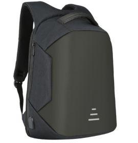 """Рюкзак MARKROYAL (с внешним USB и системой """"антивор"""") черный"""