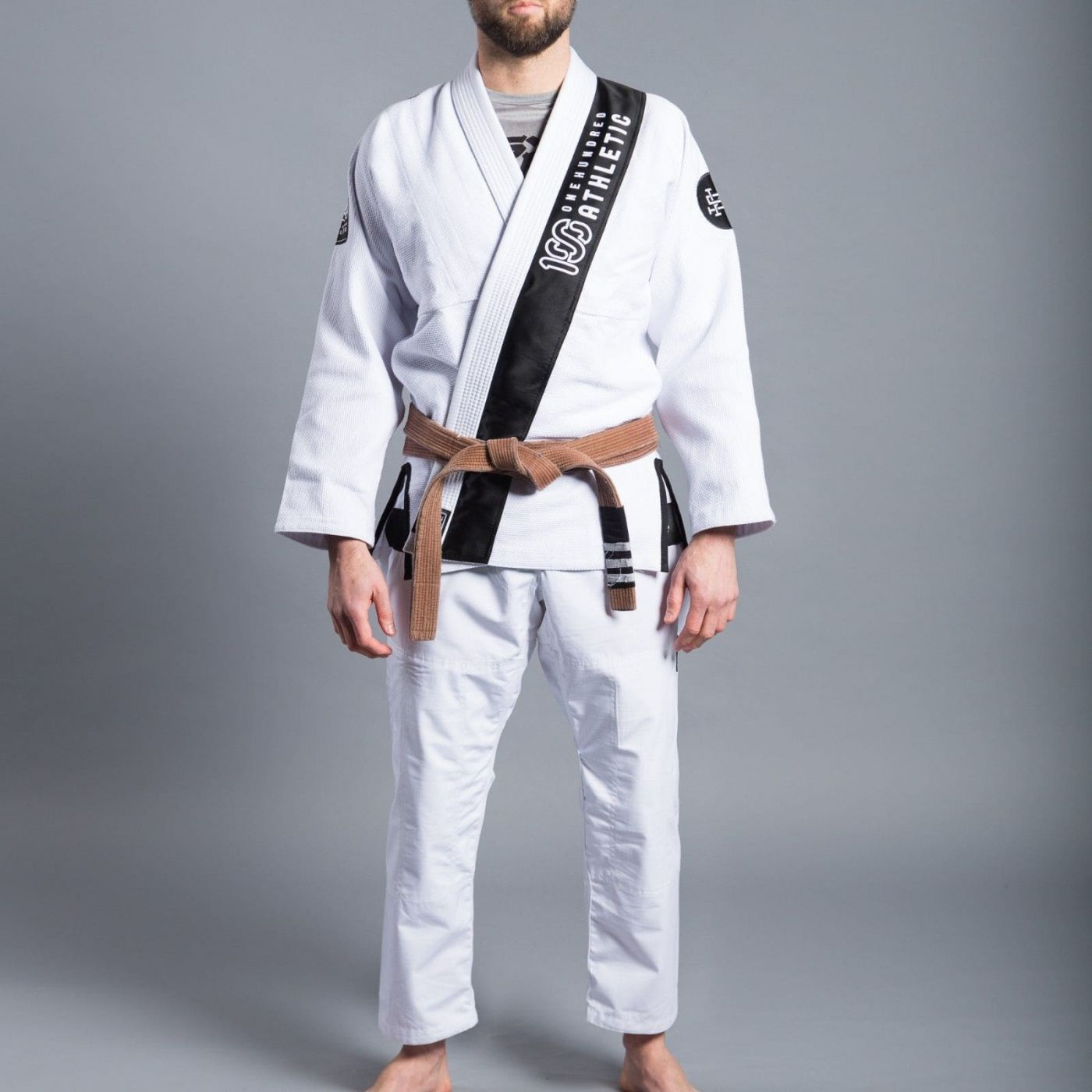 Кимоно Scramble x 100 Athletic BJJ White