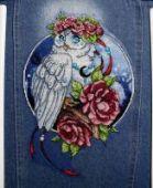 "Cross stitch pattern ""Owl""."