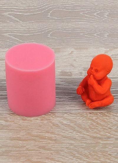 """Молд 3D 5,5х4,5х6 см """"Младенец"""""""