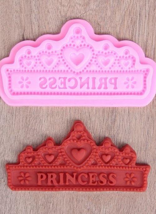 """Молд 15,5х8,2х0,5 см """"Принцесса"""""""