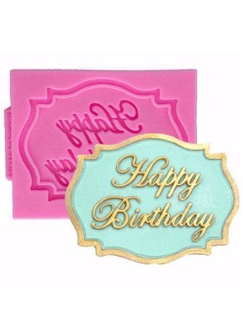"Молд ""Happy Birthday"""