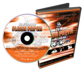 "How to Make Flash Paper - ""Как сделать пиробумагу своими руками"" DVD (анг яз)"