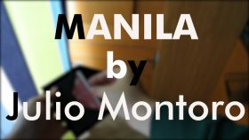 Manila by Julio Montoro - Gimmicks и DVD (пр-во Китай)