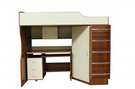 Набор детской мебели (кровать-чердак) 203Эк