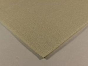 Фетр листовой, жесткий, толщина 1 мм, размер 30х30 см, цвет №43 бежевый
