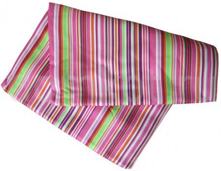 Полотенце пляжное Семейное 87 х 180 см светло-розовое