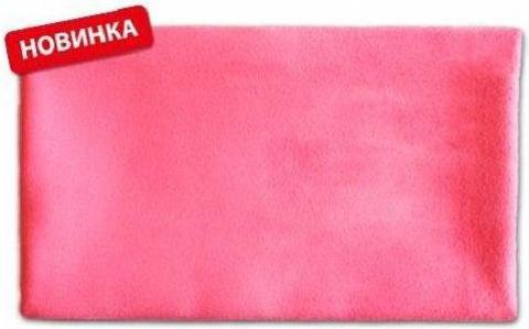 Полотенце Фитнес 40 х 90 см розовое