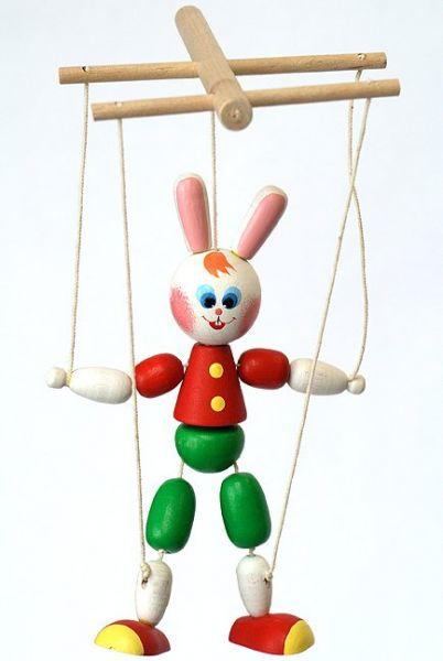 Деревянная игрушка Зайчик