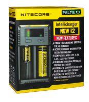 Зарядное устройство NITECORE для аккумуляторных батарей Intellicharger NEW i2